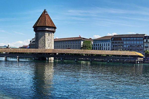 Kapellbrücke Luzern / Kapell Bridge Lucerne