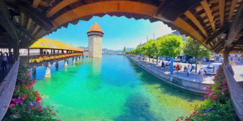 Kapellbrücke in Luzern