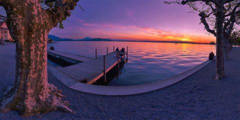 Zug Sunset