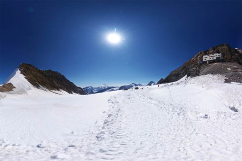 Jungfraujoch, Eiger und Mönch